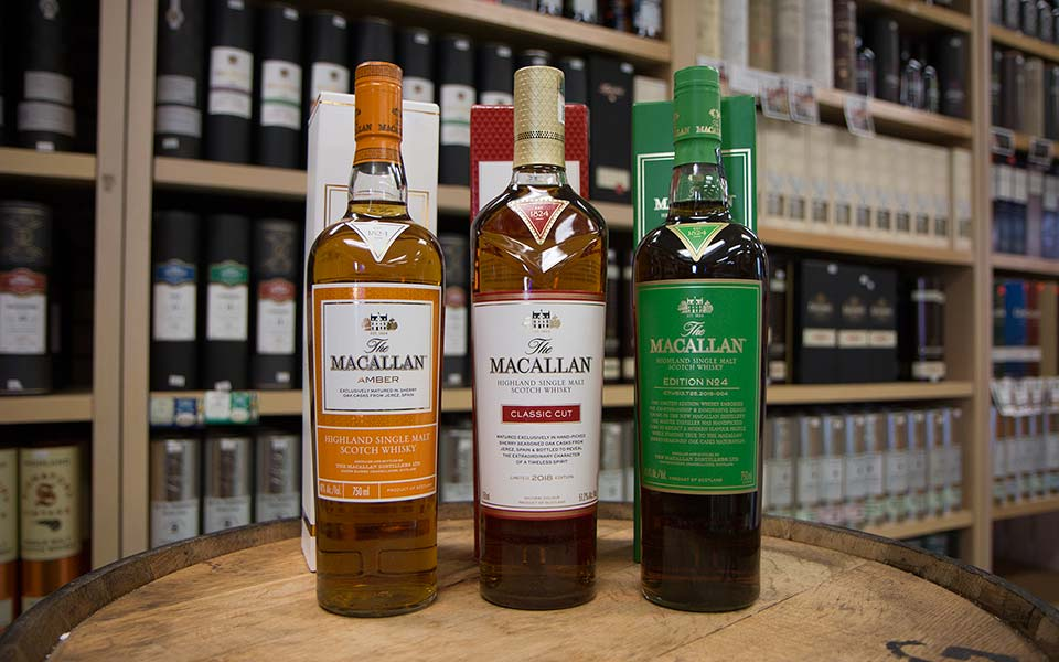 The Macallan Amber, Classic Cut 2018 & Edition No. 4