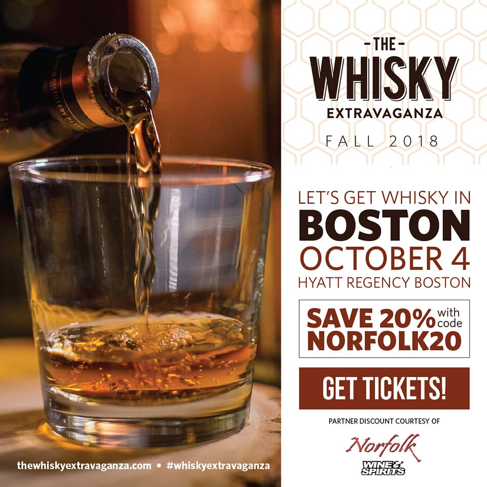 The Whisky Extravaganza Boston 2018 - Promo