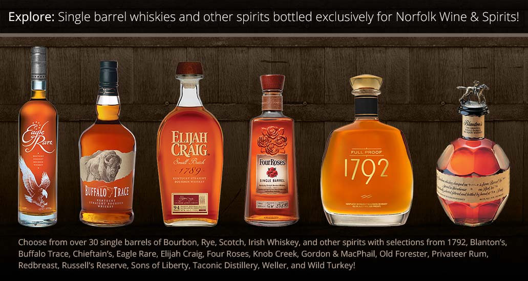 Norfolk Wine & Spirits Single Barrel Store Picks