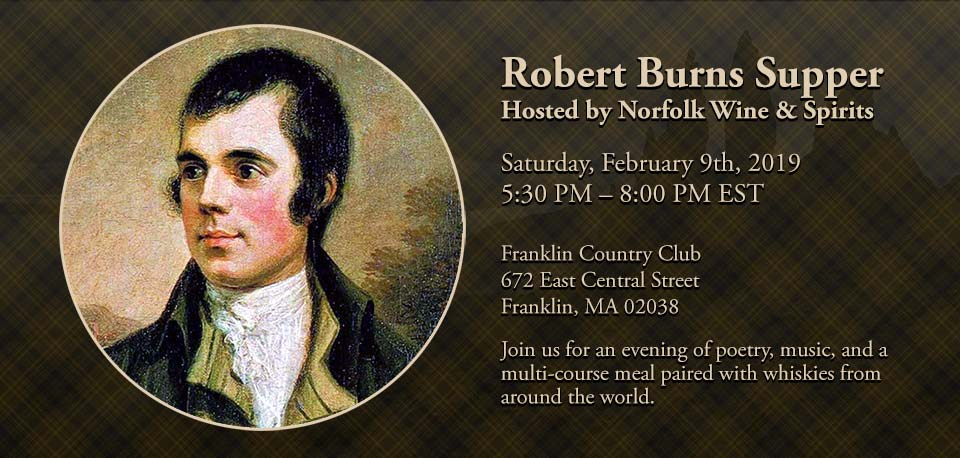 2019 Robert Burns Supper (Burns Night)