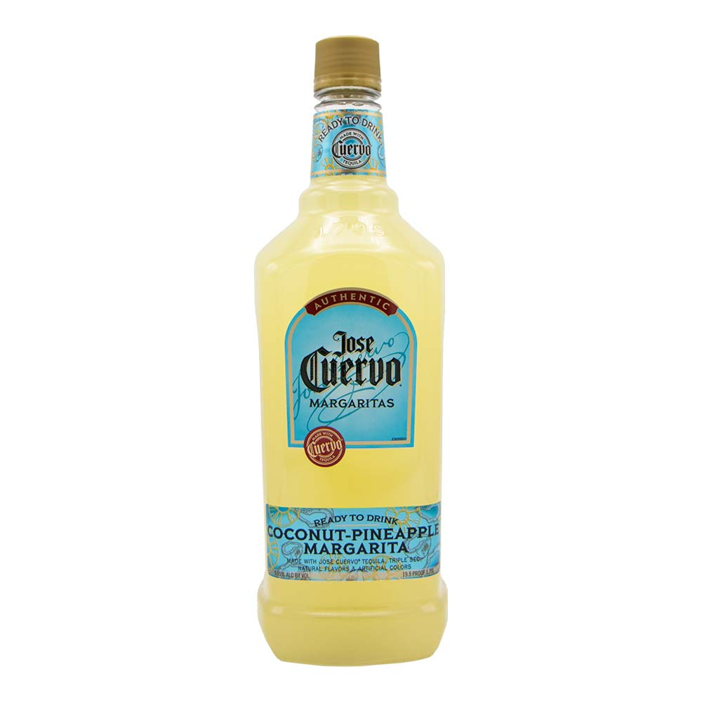 Jose Cuervo Ready To Drink Coconut Pinneapple Margarita (1