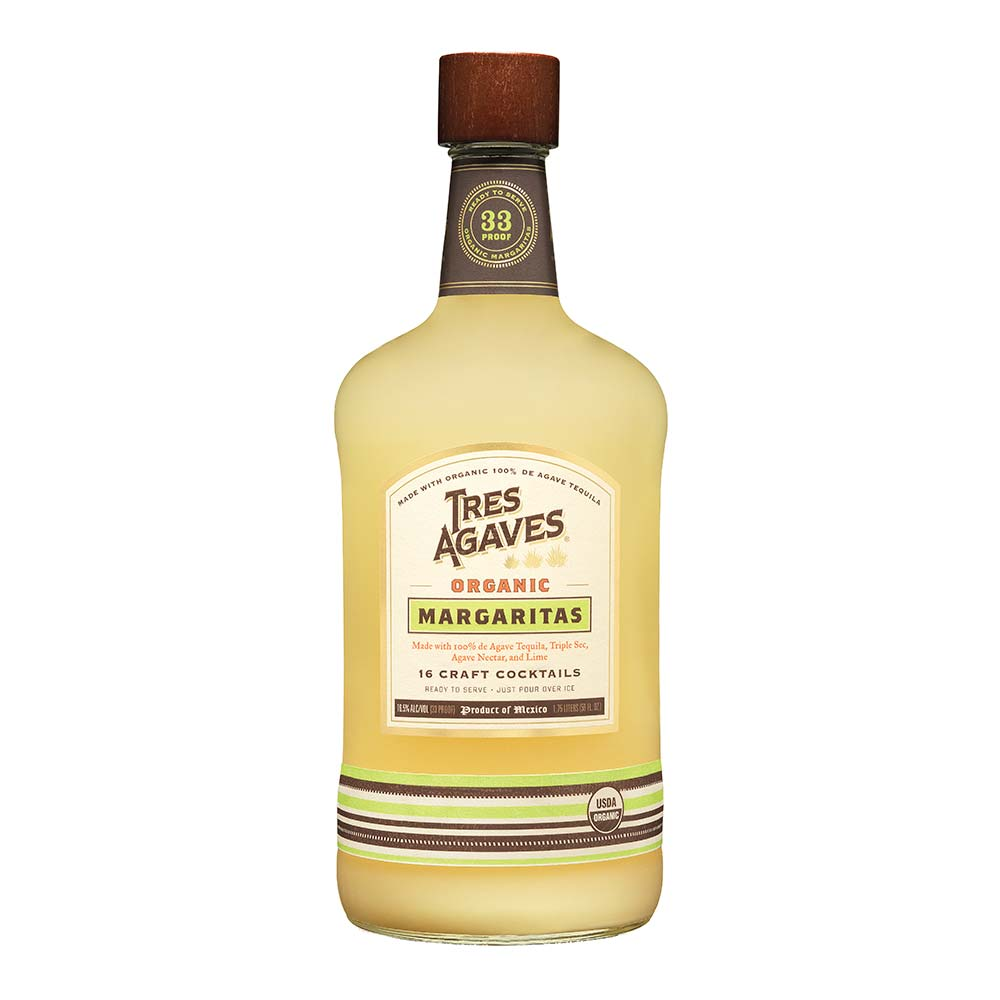 Tres Agaves Ready To Drink Organic Margaritas 1 75 L